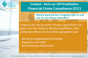 Financial Crime Compliance Content Serie VDT III