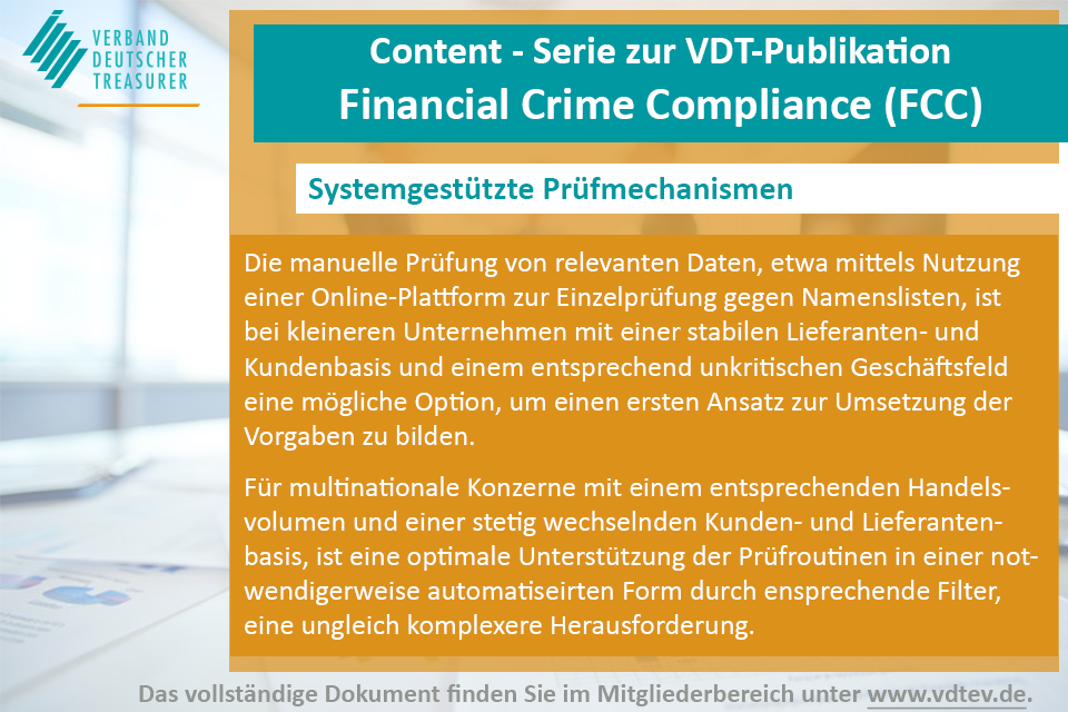 VDT Financial Crime Compliance